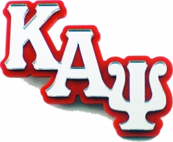 View Buying Options For The Kappa Alpha Psi Big Letter Mirror Lapel Pin