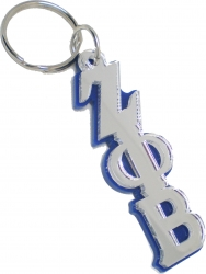 View Buying Options For The Zeta Phi Beta Large Letter Mirror Keychain