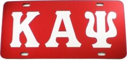 View Buying Options For The Kappa Alpha Psi Inlaid Mirror License Plate
