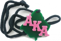View Buying Options For The Alpha Kappa Alpha Leaf Symbol Medallion