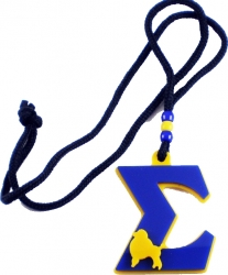 View Buying Options For The Sigma Gamma Rho Big Letter Poodle Symbol Medallion