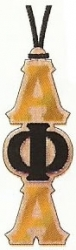 View Buying Options For The Alpha Phi Alpha Oak Wood Mirror Medallion