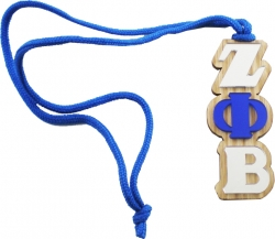 View Buying Options For The Zeta Phi Beta Oak Wood Mirror Medallion