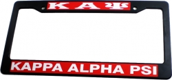 View Buying Options For The Kappa Alpha Psi Plastic License Plate Frame