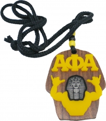 View Buying Options For The Alpha Phi Alpha Wood Sphinx Head Symbol Medallion