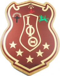 View Buying Options For The Iota Phi Theta Domed Wood Shield Wall Plaque