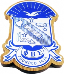 View Buying Options For The Phi Beta Sigma Domed Wood Shield Wall Plaque