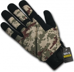 View Buying Options For The RapDom Digital Camo Tactical Gloves