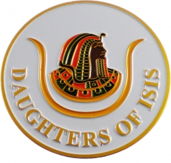 View Buying Options For The Daughters of Isis Symbol Round Car Emblem