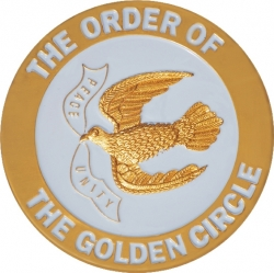 View Buying Options For The Order of the Golden Circle Symbol Round Car Emblem