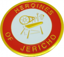 View Buying Options For The Heroines of Jericho Symbol Round Car Emblem