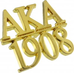 View Buying Options For The Alpha Kappa Alpha 1908 Chapter Bar Lapel Pin