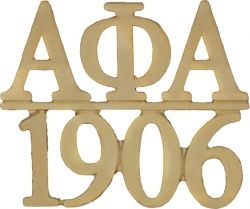 View Buying Options For The Alpha Phi Alpha 1906 Chapter Bar Lapel Pin