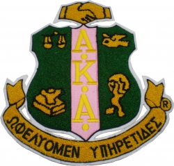 View Buying Options For The Alpha Kappa Alpha Crest Chenille Iron-On Patch