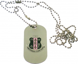 View Buying Options For The Alpha Kappa Alpha Double Sided Dog Tag
