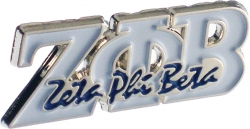 View Buying Options For The Zeta Phi Beta Signature Lapel Pin