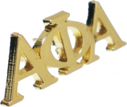 View Buying Options For The Alpha Phi Alpha Letters Lapel Pin