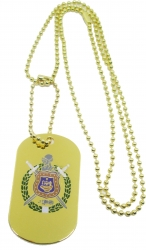 View Buying Options For The Omega Psi Phi Double Sided Dog Tag