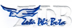 View Buying Options For The Zeta Phi Beta Signature Dove Iron-On Patch