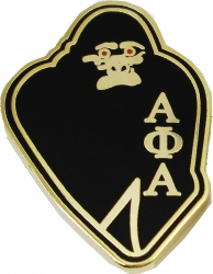 View Buying Options For The Alpha Phi Alpha Ape Lapel Pin