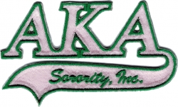 View Buying Options For The Alpha Kappa Alpha Tail Tackle Twill Iron-On Patch