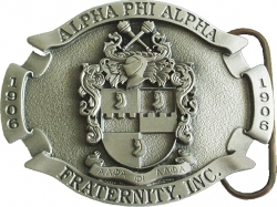 View Buying Options For The Alpha Phi Alpha 3D Oval Shield Mens Belt Buckle