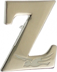 View Buying Options For The Zeta Phi Beta Big Letter Z Dove Lapel Pin