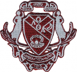 View Buying Options For The Lambda Theta Alpha Crest Iron-On Patch
