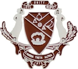 View Buying Options For The Lambda Theta Alpha Crest Lapel Pin