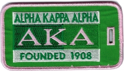 View Buying Options For The Alpha Kappa Alpha Founded 1908 Luggage Tag