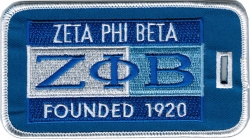 View Buying Options For The Zeta Phi Beta Founded 1920 Luggage Tag