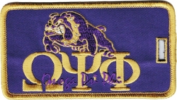 View Buying Options For The Omega Psi Phi Bulldog New Image Luggage Tag