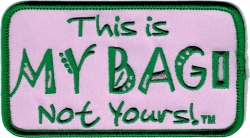 View Buying Options For The Alpha Kappa Alpha Colors This Is My Bag Not Yours Luggage Tag