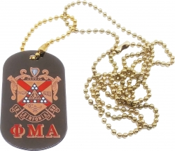 View Buying Options For The Phi Mu Alpha Sinfonia Double Sided Dog Tag