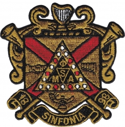 View Buying Options For The Phi Mu Alpha Sinfonia Shield Iron-On Patch