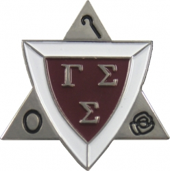 View Buying Options For The Gamma Sigma Sigma Active Membership Badge Lapel Pin