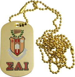 View Buying Options For The Sigma Alpha Iota Double Sided Dog Tag