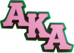 View Buying Options For The Alpha Kappa Alpha Mirror Lapel Pin
