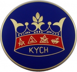 View Buying Options For The Knights of the York Cross of Honour Etched Round Car Emblem