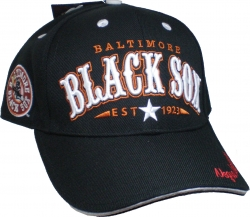 View Buying Options For The Big Boy Baltimore Black Sox Legends S2 Mens Baseball Cap