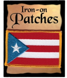 View Buying Options For The Puerto Rico Flag Iron-On Patch [Pre-Pack]