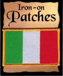 View Buying Options For The Ireland Flag Iron-On Patch [Pre-Pack]