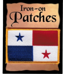 View Buying Options For The Panama Flag Iron-On Patch [Pre-Pack]