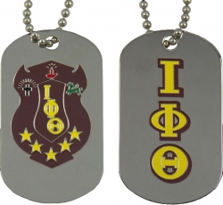 View Buying Options For The Iota Phi Theta Double Sided Dog Tag