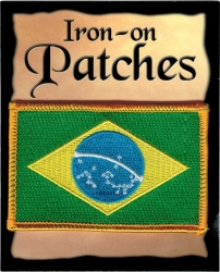 View Buying Options For The Brazil Flag Iron-On Patch [Pre-Pack]