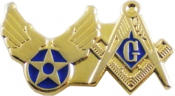 View Buying Options For The US Air Force + Mason Double Duty Lapel Pin