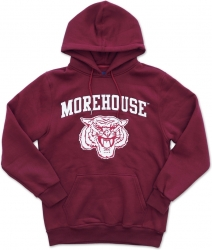View Buying Options For The Big Boy Morehouse Maroon Tigers S4 Mens Pullover Hoodie