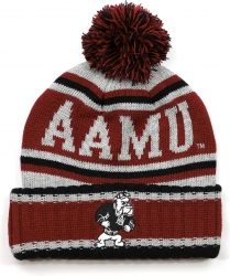 View Buying Options For The Big Boy Alabama A&M Bulldogs S51 Mens Cuff Beanie Cap with Ball