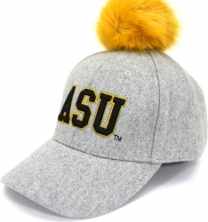 View Buying Options For The Big Boy Alabama State Hornets S8 Ladies Pom Pom Cap