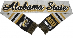 View Buying Options For The Alabama State Hornets S5 Mens Knit Scarf
